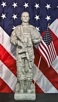 UNITED STATES ARMY CAMO SOLDIER (African-American)